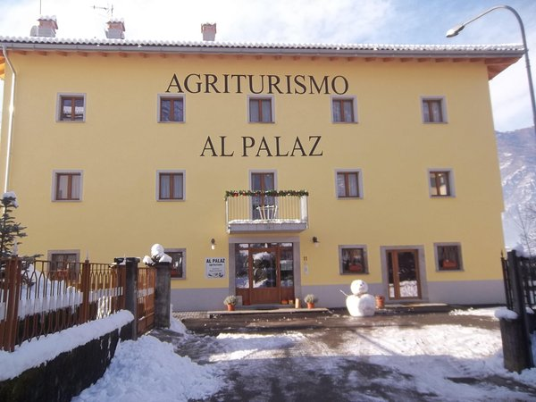 Winter presentation photo Al Palaz - Rooms + Apartments in farmhouse