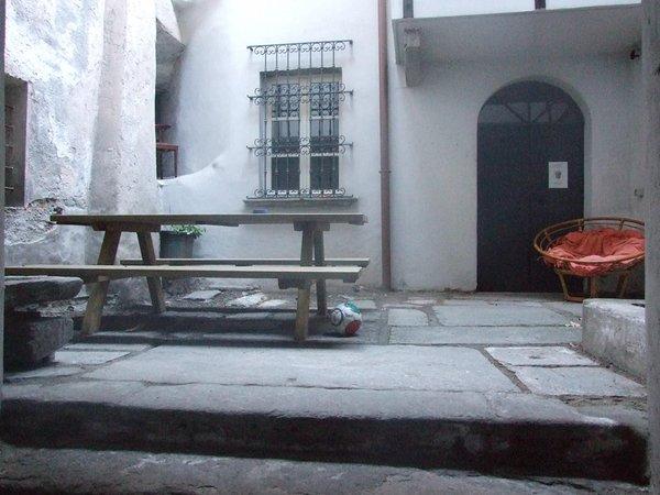Foto esterno in estate La Stufa Rossa