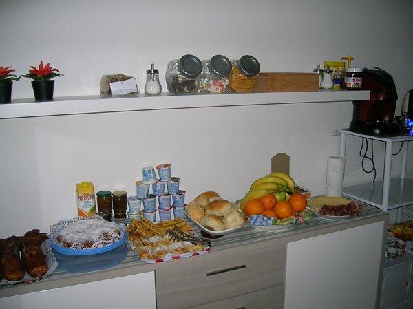 Das Frühstück Al Carotin - Bed & Breakfast 4 Sonnen