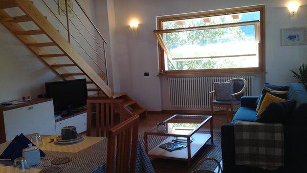 La zona giorno I Pioppi - Appartamento