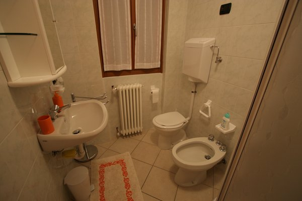 Foto del bagno Bed & Breakfast Perla Alpina