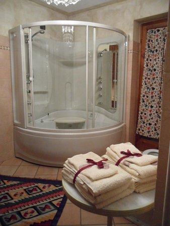 Foto del bagno Appartamenti in agriturismo Cà Dla Pia