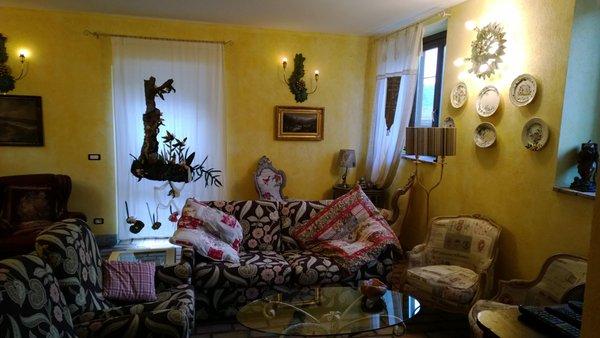 La zona giorno Cà Dla Pia - Appartamenti in agriturismo