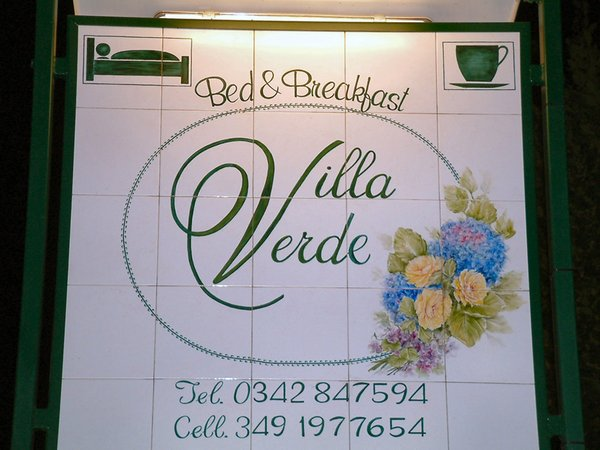 Photo exteriors Bed & Breakfast Villa Verde
