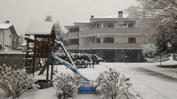 Foto invernale di presentazione B&B Affittacamere Valchiavenna - B&B + Appartamenti