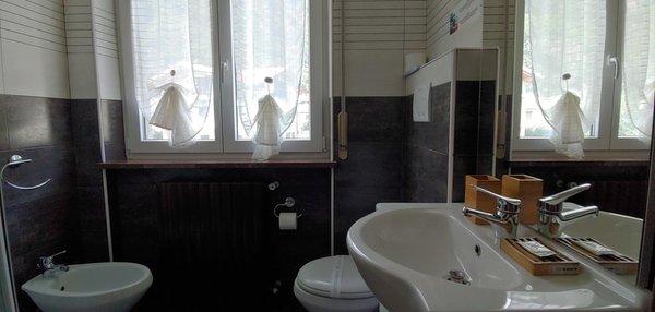 Foto del bagno B&B Affittacamere Valchiavenna