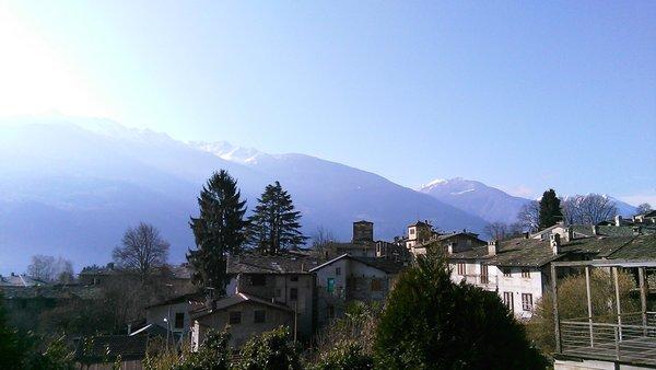 Panorama Ponte in Valtellina (Sondrio - Valmalenco)