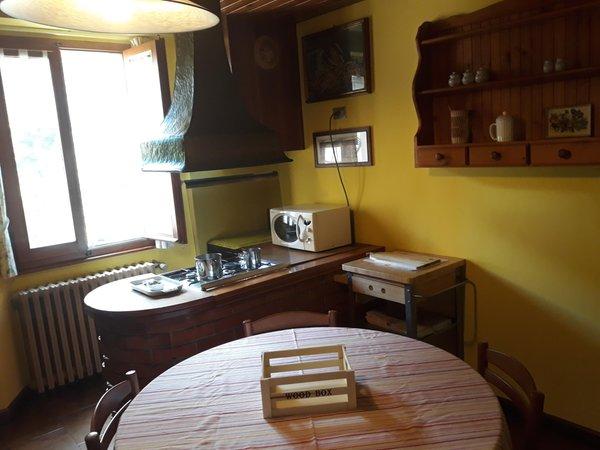 La zona giorno Bed & Breakfast La Casa Rosa