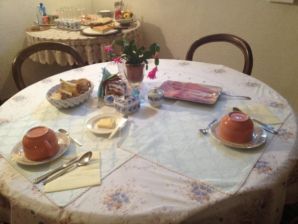 Das Frühstück Casa Mia - Bed & Breakfast