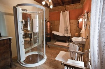Foto del bagno Bed & Breakfast Palazzo Lambertenghi