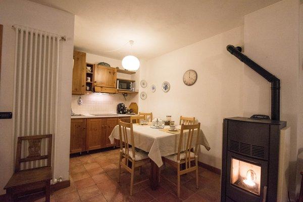 Foto della cucina Baita de Eliseo