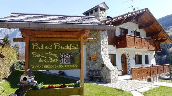 Foto estiva di presentazione Baita de Eliseo - Bed & Breakfast