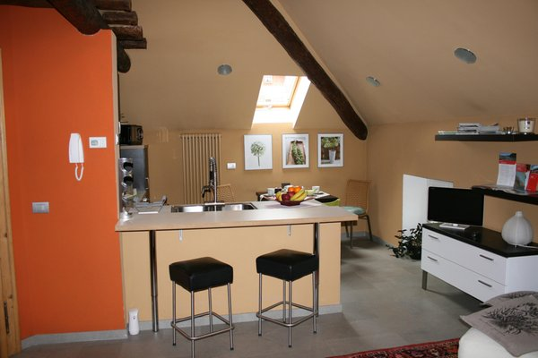 La zona giorno Rooms & Breakfast Tirano - Bed & Breakfast