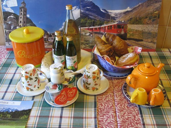 The breakfast Bed & Breakfast La Dolce Casa