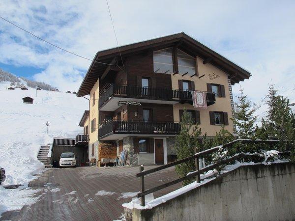Winter Präsentationsbild Ferienwohnungen Baita Nicoletta