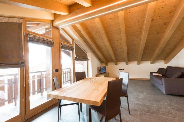 Der Wohnraum Ferienwohnungen Baita Nicoletta