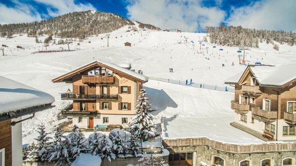 Foto Außenansicht im Winter Baita Nicoletta