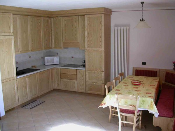 La zona giorno Chalet Claudia - Appartamento