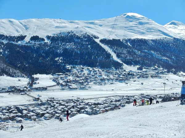 Panoramic view Livigno