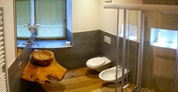Photo of the bathroom Bed & Breakfast La Stube dei Partel
