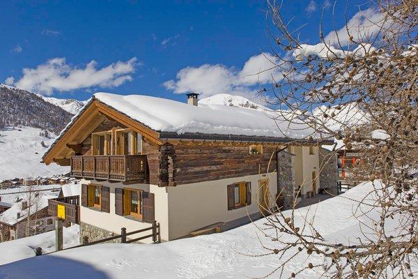 Foto invernale di presentazione Casa Teola - Appartamenti