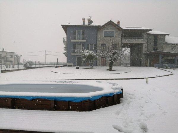 Foto Außenansicht im Winter Zia Vivina