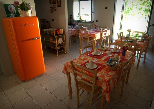La zona giorno Zia Vivina - Bed & Breakfast