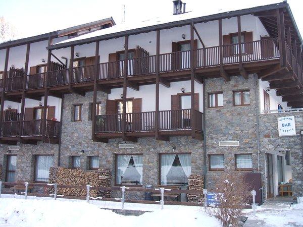 Foto invernale di presentazione Residence Stofol
