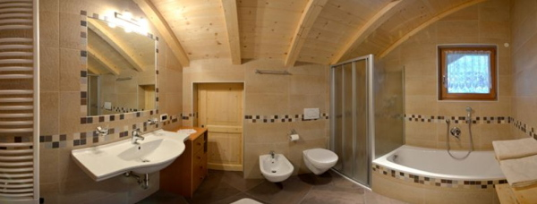 Photo of the bathroom Farmhouse apartments Jusciarahof
