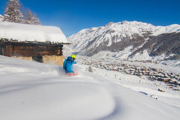Foto invernale di presentazione Livigno - Azienda di promozione turistica