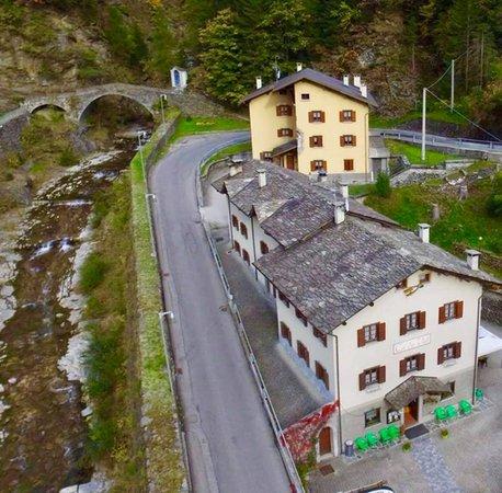 La posizione Casa vacanze Ca' de Val Campodolcino (Valchiavenna)