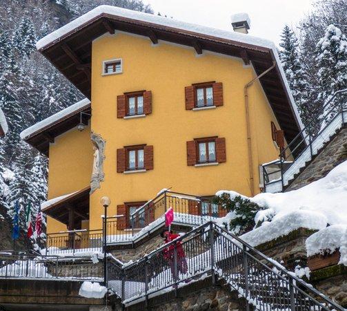 Foto esterno in inverno Ca' de Val