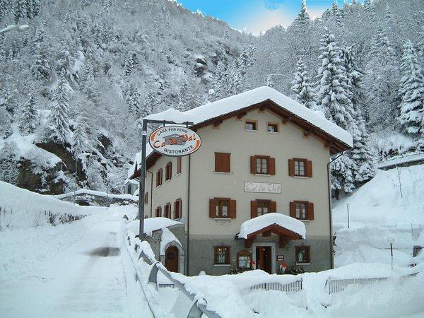 Foto invernale di presentazione Ca' de Val - Casa vacanze