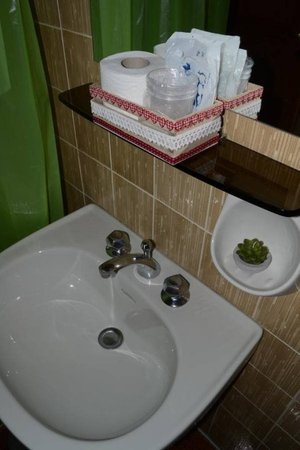 Foto del bagno Albergo La Rabbiosa