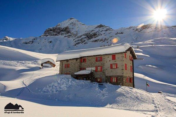 Winter Präsentationsbild Berghütte Cristina