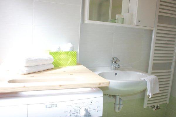 Foto del bagno Appartamenti Casa Buffaure a Parte