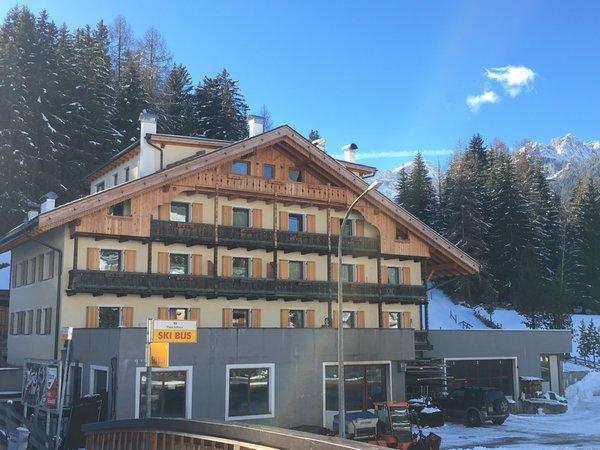 Foto invernale di presentazione Casa Buffaure a Parte - Appartamenti