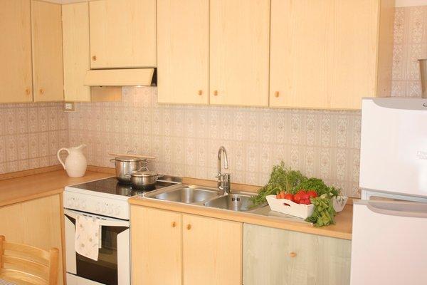 Foto della cucina Casa Buffaure a Parte