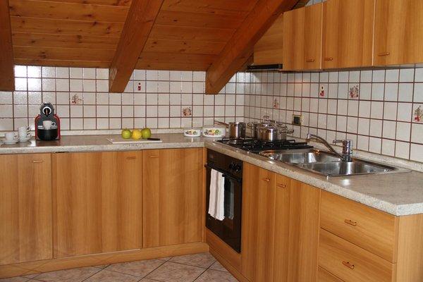 Photo of the kitchen Casa Cima Dodici a Parte