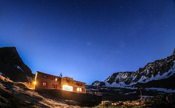 Winter Präsentationsbild Berghütte Cesare Ponti