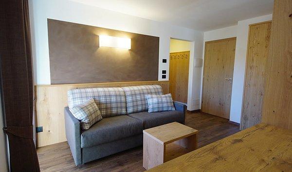 Il salotto Chalet Ambria Appartments - Appartamenti 2 soli