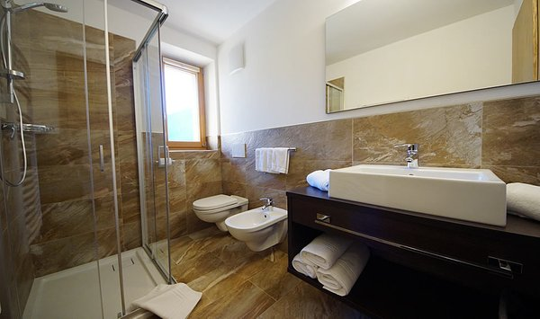 Foto del bagno Chalet Ambria Appartments