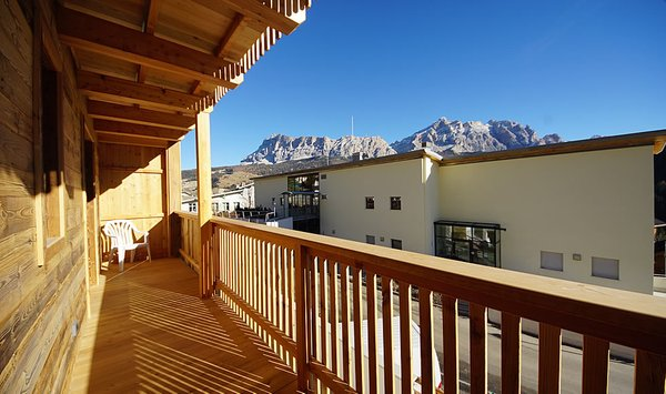 Foto del balcone Chalet Ambria Appartments