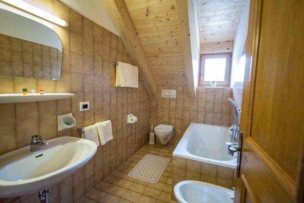 Foto del bagno Appartamento La Ütia