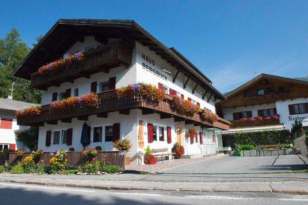 Foto estiva di presentazione Haus Bergblick - Garni (B&B) + Appartamenti 2 soli