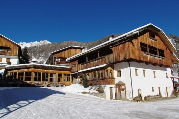 Foto invernale di presentazione Ristorante Lüch de Vanc'