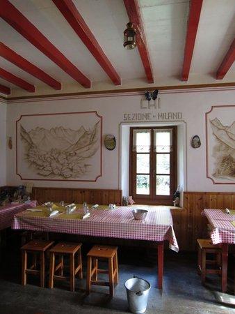 Das Restaurant Novate Mezzola (Valchiavenna) Luigi Brasca