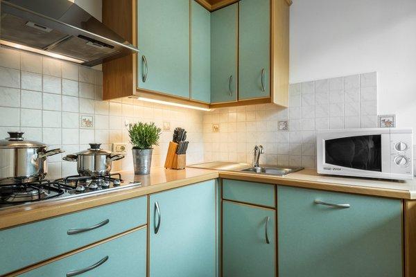 Foto der Küche Ciasa Odlina