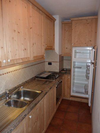 Foto della cucina Casa Dibona