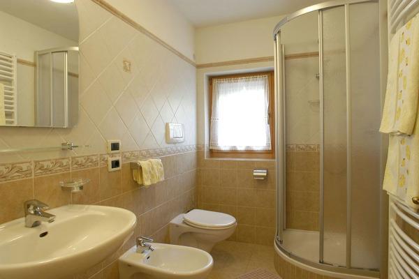 Foto del bagno Appartamenti Montanara